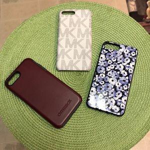Michael Kors & Otterbox IPhone 8 Plus Case Bundle